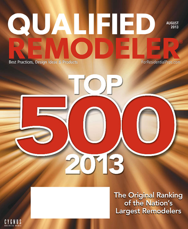 top 500 remodelers list